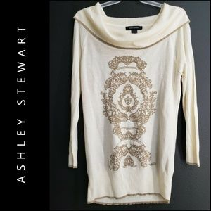 Ashley Stewart Women Off Shoulder Knit Blouse 12
